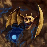 Overkill bat 2 by Acrylicdreams