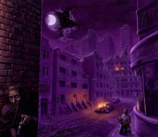 Civic Nightmares by Acrylicdreams