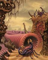 Arthropod planet by Acrylicdreams