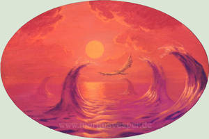 Sunsetwaves by Acrylicdreams