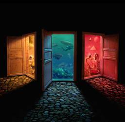 Doors of perception by Acrylicdreams