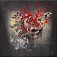 Disintegration by Acrylicdreams