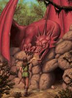 taming the dragon by Acrylicdreams