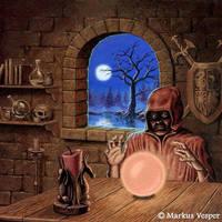 fortune teller by Acrylicdreams
