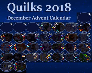 Quilks December Advent Calendar (OPEN) by BadmashBlitz
