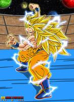 ssj3 Goku in Multiverse by bejita135