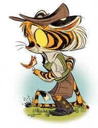 Freckle Lackadaisy Cats by Pocketowl