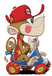 Diddy Kong by Pocketowl