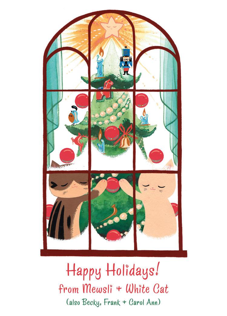 Christmas card 2011 by Pocketowl