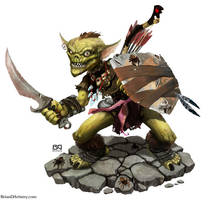 Goblin Warrior by geministranger