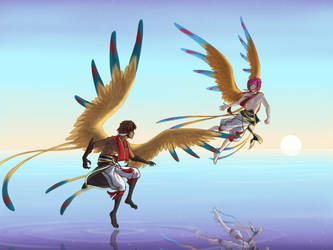 Mirror Dance by ikarus-exe