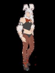MGP Bunny Estinien by ikarus-exe