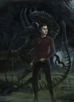 star trek alien by wll4u