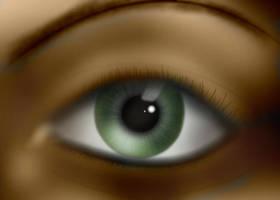 Green Eye by naranch