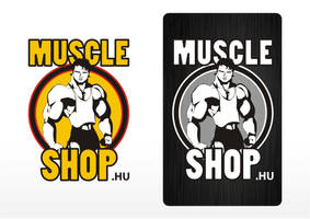 Muscle shop logos by naranch