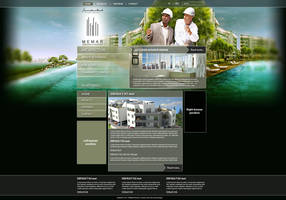 Architectural webdesign by naranch