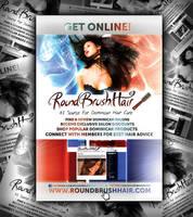 RoundBrushHair Flyer by naranch