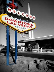 Las Vegas Downtown by naranch