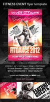 Fitness event flyer by naranch