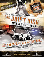 Muscle car show flyer template by naranch