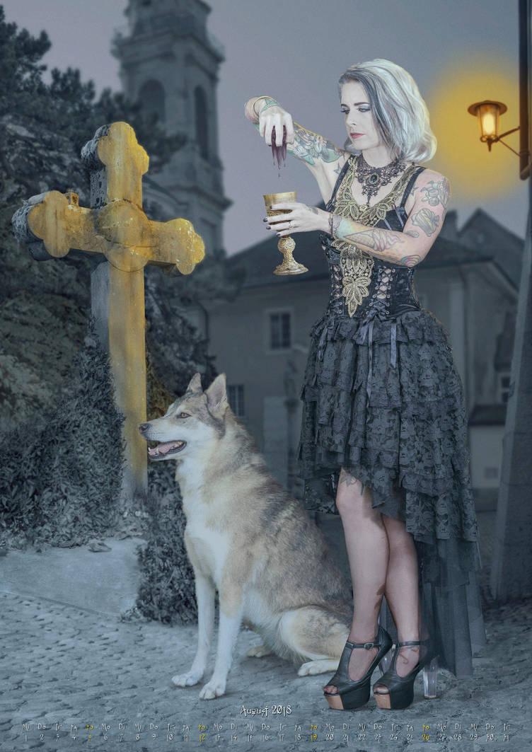Kalender-gothic-2018-08 by salvatoredevito