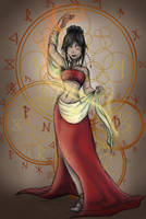 Fire Dancer by Detonya-KAN