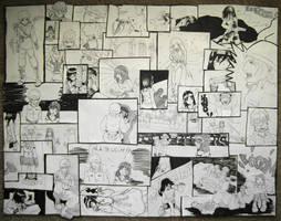 Comic Collage by Detonya-KAN
