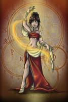 Fire Dancer (Remade) by Detonya-KAN
