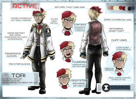 Tori Character Sheet by Detonya-KAN