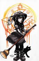 Witch by Detonya-KAN