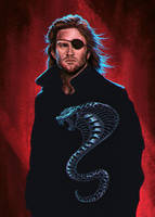 Snake Plissken by cyberaeon