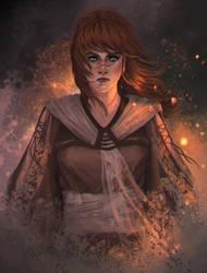 Rhiannon by cyberaeon