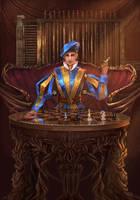 King Of Swords by cyberaeon