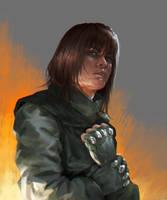 Warrior by cyberaeon