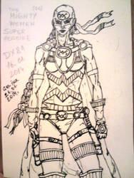 Mighty Woman OC by dragonx81