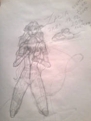 Zalia Sketch_Character contest #3 by DX81 by dragonx81