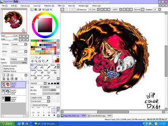 WIP Red Riding Hood_color_DX81 by dragonx81