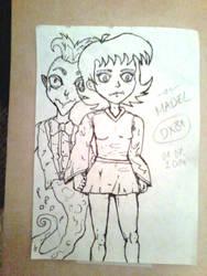 OC Madel-The sad girl by Sir-Knite-dragonx81 by dragonx81