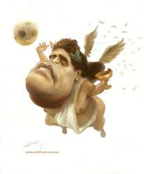 Maradona - Devine Intervtion by NoriTominaga