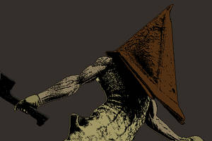 Red Pyramid Thing #2 by ReSampled