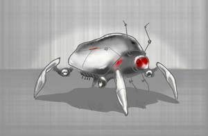 Robot sketch by ReSampled