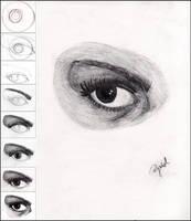 .how I draw eye by Nyae