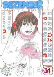 Calendar Sheet - December by a-mole