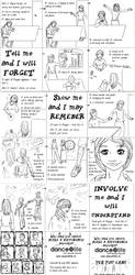 Dance4Life clip Storyboard by a-mole