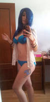 Juvia bikini test by LuffySwan