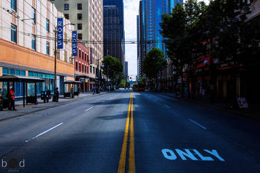 Seattle Streets I by bcdirector