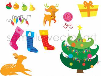 Holiday Decals by UnicornSpirit