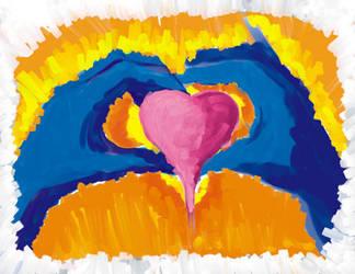 I found this heart by UnicornSpirit