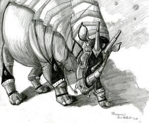 'Rhinosaurus' by UnicornSpirit