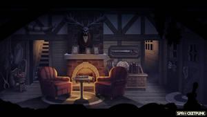 Shiftling - Livingroom Set (Night) by TLCook